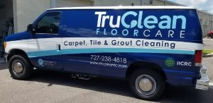 Midtown Manhattan Vinyl Printing Vehicle Wrap Tru Clean 300x146