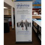 Flatiron Trade Show Displays banner vinyl tradeshow retractable indoor 150x150