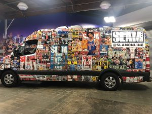 custom van wrap vehicle graphics