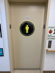coronavirus social distancing signage